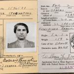Alien Registration Identification card for Teresa Sterrantino