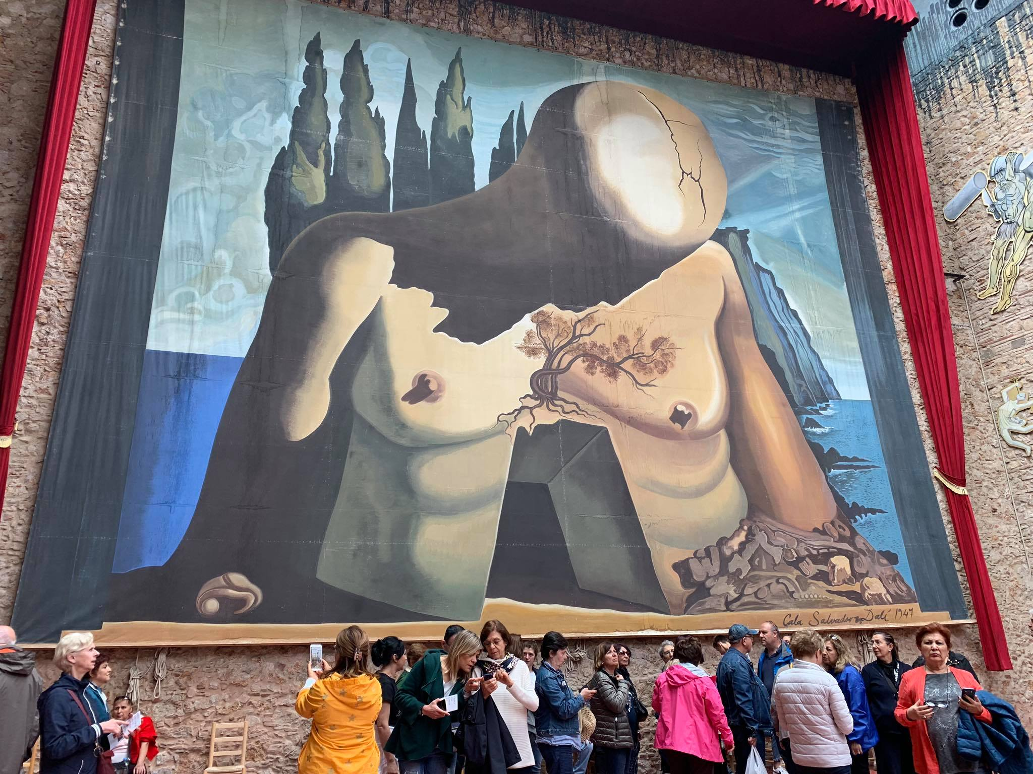 Day 2: Dalí Theatre-Museum, Figueres  / Spain